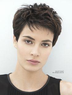 Zwarte Korte Kapsels Voor Vrou Mannen Haarstijlen