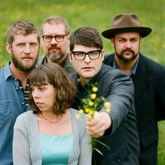 The Decemberists are probably one of the best bands of our generation in my opinion. They played with all the #greats