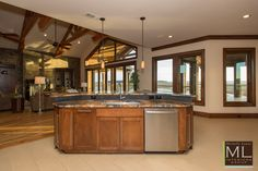 Beacon Hill Lake-house Design | Kitchen Design  by Michelle Lynne Interiors Group