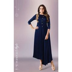 801 Series Multi Fabric Kurtis By L T Fabrics (Set of 11 Kurtis) - Catalog 9774