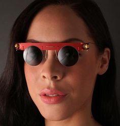 John Hansen-red eyewear