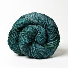 Malabrigo Arroyo Yarn - Aguas    Sport weight superwash merino wool. 335 yards (305 meters), needle size US 4 – 6. Machine washable, gentle cycle, cold water, dry flat.