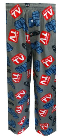 Recliners and Remotes Lounge Pants A match made in heaven! These 100% cotton lounge pants for men feature recliners and TV remo...