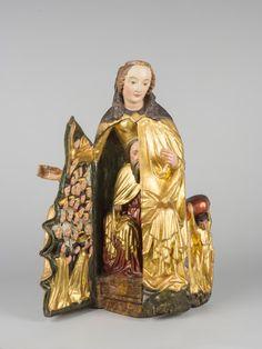Schreinmadonna, frühes 15. Jh. Wien, Dommuseum