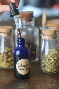 Sleep Tincture Recip