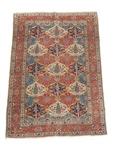 Woolley and Wallis - Bakhtiari 'garden' rug, Chahar Mahal, west Persia, early…
