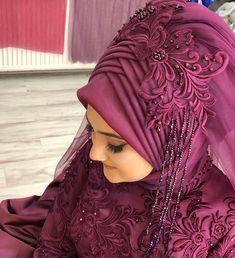 Likes, 43 Comments - İpek Bayan Kuaforü ( on Instagr. Muslim Wedding Gown, Hijab Wedding Dresses, Hijabi Wedding, Bridal Hijab, Hijab Bride, Muslim Brides, Muslim Girls, Hijab Makeup, Hijab Style Tutorial