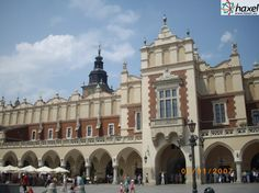 Sukiennice – Renaissance trading hall and one of Cracow's most recognizable icons.