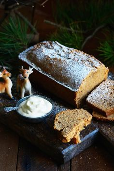 Christmas Maple Spiced Ginger Loaf