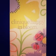 """I just added this to my closet on Poshmark: """"CLINIQUE Happy In Bloom!! NEW still sealed1.7 oz. Price: $30 Size: 1.7 fl oz"""