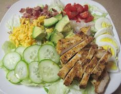 Luscious Low Carb: Deluxe Grilled Chicken Salad