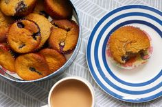 Piece of Cake: Wholesome blueberry and banana cakes