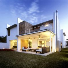 Modern Design - Love this house! I want one please :)