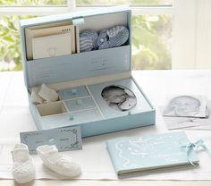 Babys Memories Blue Memory Box