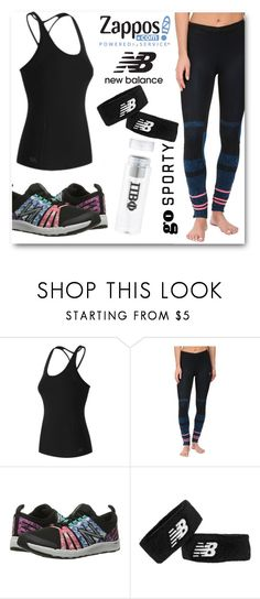 """""""Run the World in New Balance"""" by eileenelizabeth ❤ liked on Polyvore featuring New Balance, NewBalance and polyvoreeditorial"""