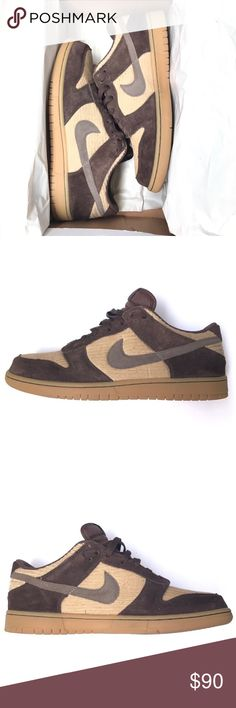 Nike Dunk Corduroy Size 11 Nike Dunk Corduroy, Brown & Tan, Gum Sole. Size 11. Pre-owned, still in great condition. With good cleaning will be like new! Original box included! Nike Shoes