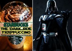 An all dark Frappuccino using some of our stronger ingredients and one of our favorites, chocolate whipped cream!