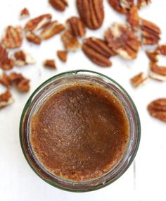 The Ultimate Nut Butter - My three favourite butters are almond, pecan & walnut and combined with the caramel flavours of dates, the sweetness of cinnamon and the creamy coconuty goodness of coconut oil this nut butter is much cheaper to make and so much better than anything you can buy - Deliciously Ella