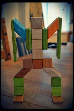 Tegu magnetic blocks! Not only are these really cool blocks for kids, but also the company was established to help the Honduras economy by providing jobs for a very poor country!