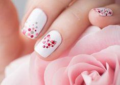 dessin-tres-facile-a-faire-base-blanche-art-coeurs-points-rose-et-rouge