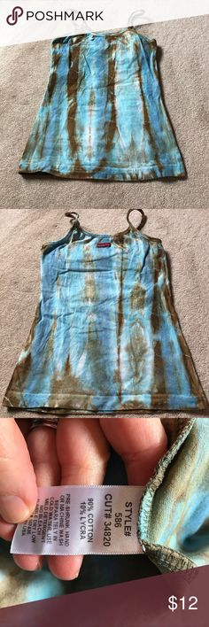 Hard tail tank top Cute tie-dye workout tank or yoga tank top. Got some use out of this one because I love it so much. But it is in perfect condition with no stains or holes Hard Tail Tops Tank Tops