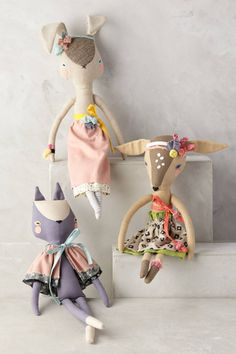 Fashionable Fauna Doll - anthropologie.com