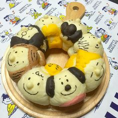 Find images and videos about food, japanese and snoopy on We Heart It - the app to get lost in what you love. Cute Snacks, Cute Food, Japanese Milk Bread, Japanese Food, Delicious Desserts, Yummy Food, Bread Shaping, Bread Art, Sweet Bakery