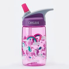 IBISHITAOXUNBAIHUOD Creativa Summer Student port/átil Botella de Cristal de Agua de Agua de pl/ástico Amantes de la Taza a Prueba de Fugas irrompible Botella de Vapor Helado