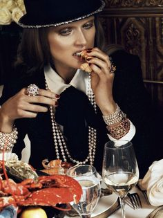 Chic Ultime editorial for VOGUE PARIS AUGUST2012