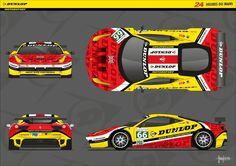 Ferrari 458 Italia GT - 24H Du Mans 2012 por mojearpe