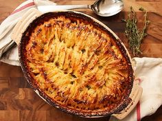 Hasselback Potato Gratin http://www.seriouseats.com/recipes/2013/12/hasselback-potato-gratin-casserole-holiday-food-lab.html
