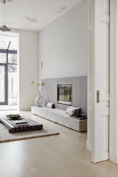 Tranquil grey living room
