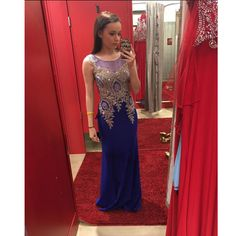 Fashion Royal Blue Prom Dresses Evening Party Dress Pst0755 on Luulla
