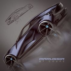 A little late, but here is yesterday's... Maybe if Marussia made a coupe? #cardesign #carbodydesign #sketchbook #cardesignsketch #idrawcars #conceptcardesign #carbodysketch #sketchpractice