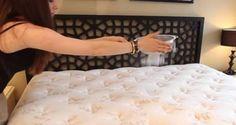 فتاه وضعت البيكنج صودا على السرير لن تتخيل ماذا حدث
