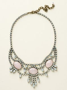 Living on the Fringe Necklace in Rose Water by Sorrelli