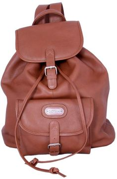 89530c579cd Leatherbay Single Pocket Backpack #valentinesdaygiftideas #affiliatelink  Classic Leather, Tan Leather, Laptop Backpack