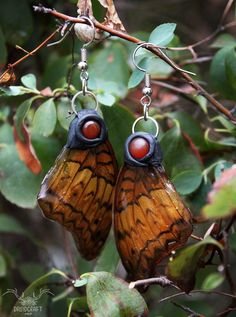 My name is Nina & I'm the creator of Druidcraft Jewelry. I make jewelry by hand using crystals, silver and polymer clay. Jewelry Shop, Handmade Jewelry, Jewelry Making, Wing Earrings, Drop Earrings, Polymer Clay Art, Butterfly Wings, Crystal Jewelry, Crystals