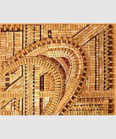 DIY cork art