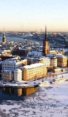 Winter in Stockholm, Sweden by maryanne