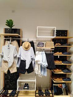 Display Windows, Wear Store, Visual Merchandising, Wardrobe Rack, Sailor, Shelf, Retail, How To Wear, House