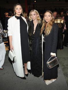 Elizabeth, Ashley and Mary-Kate Olsen