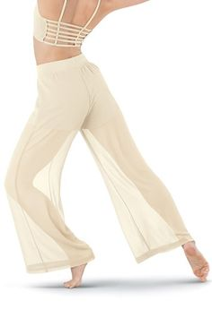 Georgette Wide Leg Pant | Balera™
