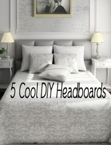 5 Cool DIY Headboards