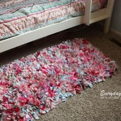 Rag Rug How To {Rugs} - Tip Junkie