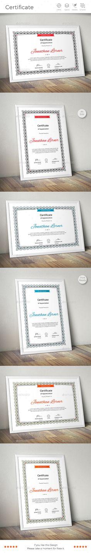 Border Certificate. Download Now: https://graphicriver.net/item/certificate/18177533?ref=CreativeRacer