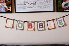 10 DIY Thanksgiving Banners