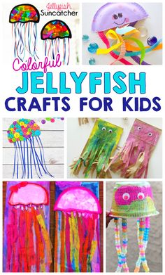 30 Best Jellyfish Crafts Images In 2014 Alphabet Crafts
