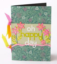 Make Your Own Pattern Repeatedly stamp an image on cardstock to create your own patterned paper. Stamp in multiple colors to add layered interest. To add more oomph, punch shapes from some of the stamped papers.