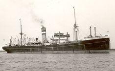 10 februari 1940  Het vrachtschip 'Burgerdyk' (1921) van de Holland-Amerika Lijn (HAL),  http://koopvaardij.blogspot.nl/2016/02/10-februari-1940.html